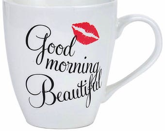 Good Morning Beautiful 18oz Coffee Mug