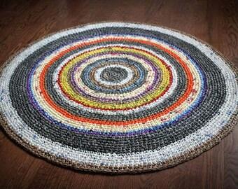 Upcycled Plarn Rug