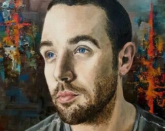 "Custom Portrait (8"" x 10"", Oil Painting)"