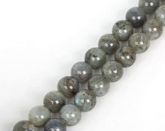 Grade AA 6 mm Labradorite beads
