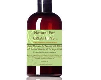 NPC Natural Shampoo for Puppies & Kittens w Lavender Therapeutic Grade Essential Oil 16oz