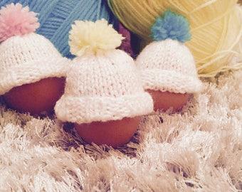 Easter egg hats (set of 3)
