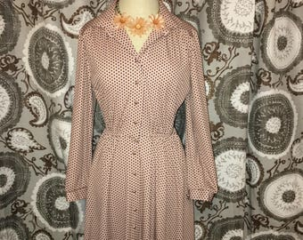 Vintage Polk a dot dress