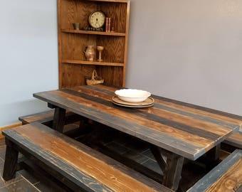 Truss Farm Table Set