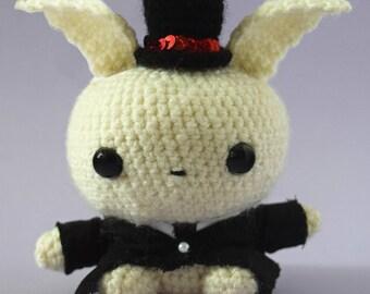 Handmade Crochet bunny Groom