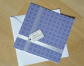 With Love & Best Wishes card