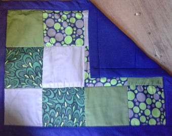 Baby quilt for little babies / changing mat for diaper bag