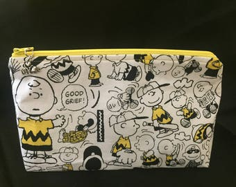 Charlie Brown Zippered Pouch