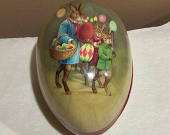 3 Vtg Germany Nesting Eggs Easter 1 from east Germany 1 western Germany 1 Germany Easter Basket