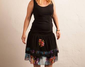 Goddess Flower skirt