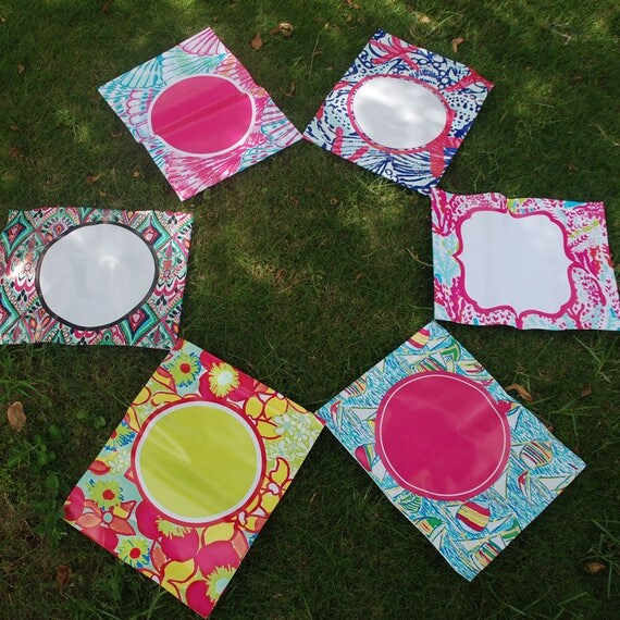 Lilly Pulitzer Garden Flags For Monograms Cricut Customize