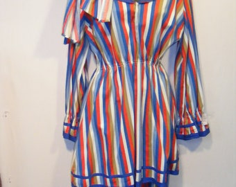 Circa 50s Theatrical Bath Costume Womens Small