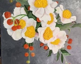 Brilliant White Flowers