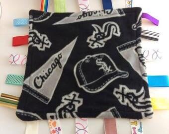 Sox tag blanket