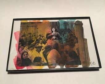 Watercolor 18 on Postcard