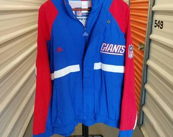 Vintage 90's NFL New York Giants Jacket By Apex-One. Men's Size Large.