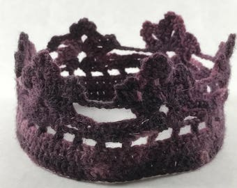 Crochet crown
