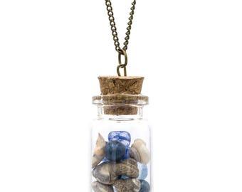 Sea in a Jar Necklace