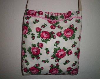 Bag, shoulder bag, shoulder bag, crossbody, roses