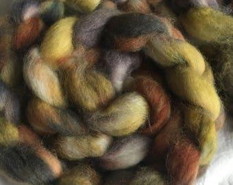 Apollo: 100g Exmoor Blueface fibre tops