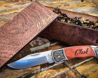 Brother Gift, Custom Pocket Knife, Groomsmen Gift Ideas, Groomsmen Gift Knife, Rustic Wedding Favor, Custom Knife, Pocket Knife