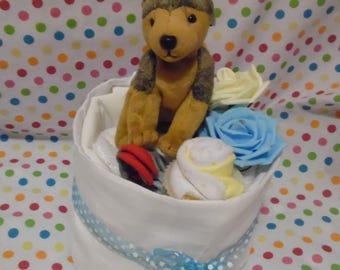 Baby Boy Nappy Cake Baby Shower Christening