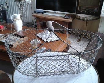 true oysters metal wire deco marine loft old wire locker basket
