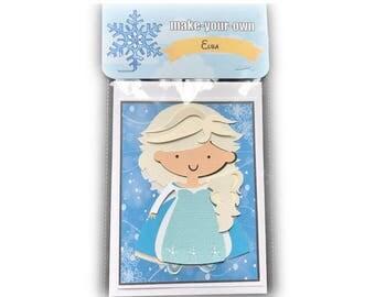 Elsa paper doll