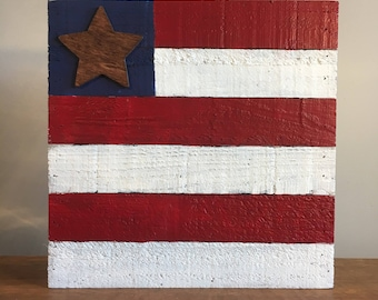 American flag.wood.pallet.painted.handmade.handcrafted.