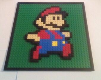 Lego® Art Mario Mosaic