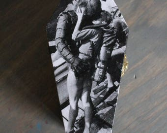 Creature from the Black Lagoon Coffin Jewelry Box