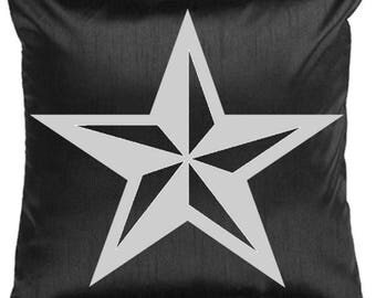 Throw Pillow - Texas Star Throw Pillow - Texas Star Bling Pillow - Texas Star Pillow - Deocrative Throw Pillow - Star Pillow - COVER ONLY