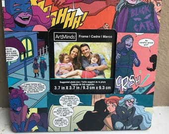 HELLCAT Comic book picture frame