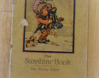 Vintage 1920s Sunshine Biscuit Recipe Book - Ida Bailey
