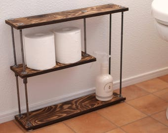 wood iron shelf 400 * 457 * 111
