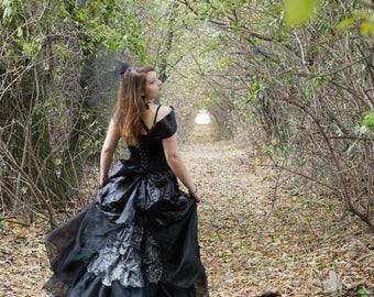 Black evening dress 80% discount (old price 230USD)
