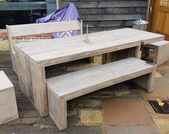 Hand Made Garden Tables and Benches