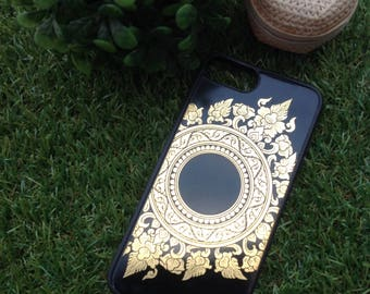 Mobile Case for IP7+ thai lacquerware