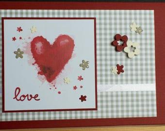 """Gift Card """"Love"""""""