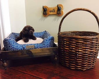 Small Slatted Bottom Dog Bed