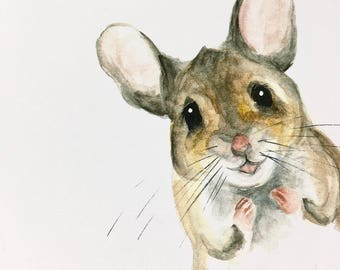 LIMITED EDITION 1/20 Mouse PRINT