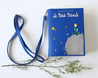 Little Prince Book Purse Le Petite Prince Faux Leather Book Bag