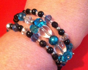 Wrap bracelet 3 strands