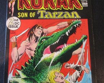 Korak Son of Tarzan #47 D.C. Comic 1972
