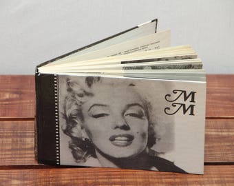 Marilyn Monroe book Biography Rare book  Old book Russian litterature Vintage book Russian book