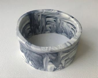 Resin Jewellery Bangle - Marble