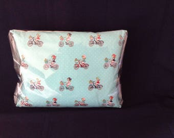"Pretty Cycling Cushion  17""x13"""