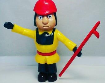 Fireman Figurine Etsy