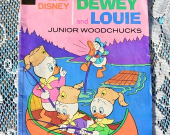 Huey, Duey, & Luey vintage comic book