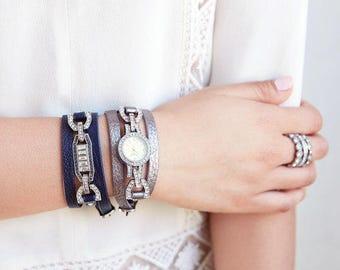 Convertible Watch & Bracelet Set